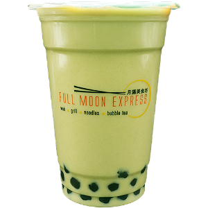 Foto Matcha green tea bubble tea