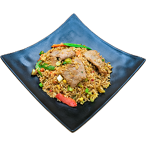 Foto Beef fried rice